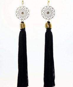 imagen de zarcillo elegante Mandala