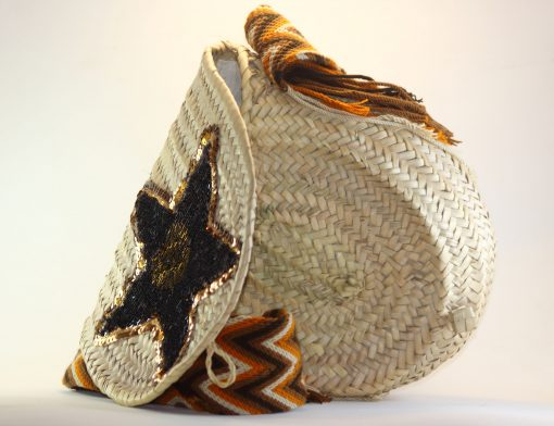 bolso de palma hecho a mano