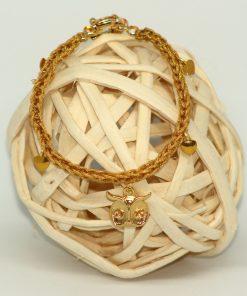 brazalete dorado